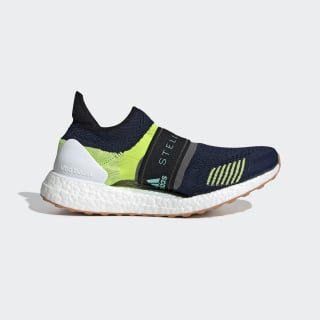 Ultraboost X 3D Shoes Night Indigo / Vivid Green / Granite BC0313
