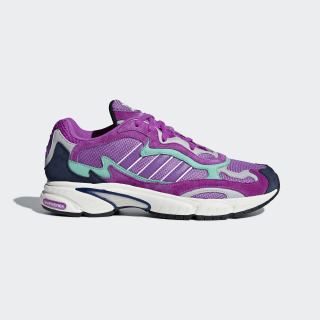 Temper Run Shoes Shock Purple / Shock Purple / Glow F97208