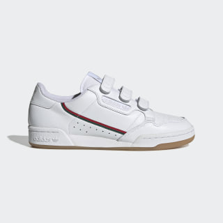 Continental 80 Shoes Cloud White / Collegiate Green / Scarlet EE5359