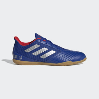Calzado de fútbol PREDATOR 19.4 indoor bold blue / silver met. / active red BB9083