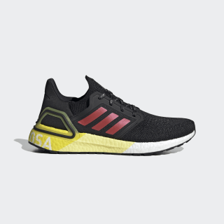 Ultraboost 20 Osaka City Pack Shoes Core Black / Glory Red / Shock Yellow FX7815