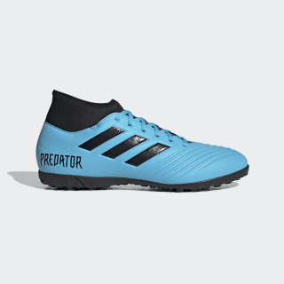 Zapatillas de Fútbol Predator 19.4 Césped Artificial Bright Cyan / Core Black / Solar Yellow EF0413