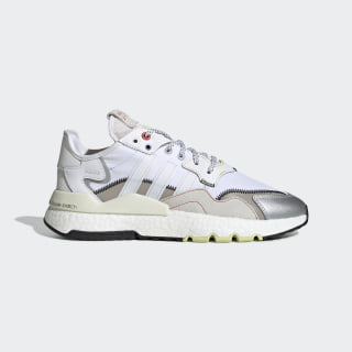 Nite Jogger Shoes Orbit Grey / Cloud White / Hi-Res Red EF5405