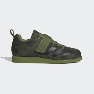 Chaussure Powerlift 4 Tech Olive / Core Black / Legend Earth F99831