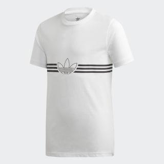 Playera Outline white/black ED7845