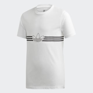 Polo Outline White / Black ED7845