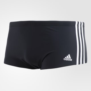 Sunga 3-Stripes Wide Black / White / White CE3299