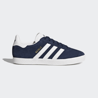 Gazelle sko Collegiate Navy / Cloud White / Cloud White BY9144
