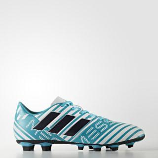 Calzado de Fútbol Nemeziz Messi 17.4 Terreno Flexible Cloud White / Legend Ink / Energy Blue CG4149