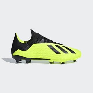 Zapatos de Fútbol X 18.3 Terreno Firme SOLAR YELLOW/CORE BLACK/FTWR WHITE DB2183
