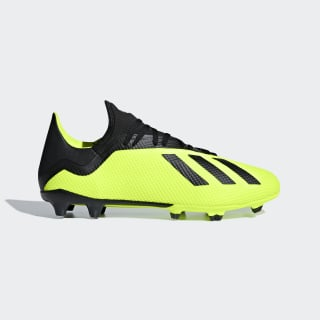 Zapatos de Fútbol X 18.3 Terreno Firme SOLAR YELLOW/CORE BLACK/FTWR WHITE DB2183