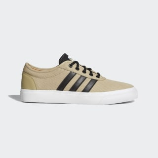 Adiease Shoes Gold / Core Black / Cloud White DB0409