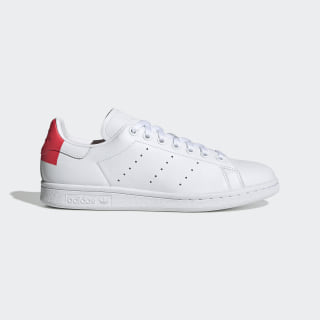 Tenis Stan Smith Cloud White / Shock Red / Cloud White EE5853