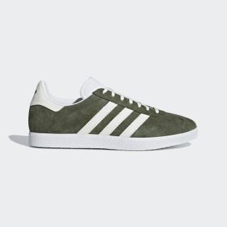 Chaussure Gazelle Base Green / Off White / Ftwr White B41649