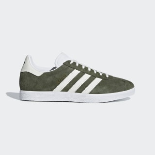 Gazelle Shoes Base Green / Off White / Cloud White B41649