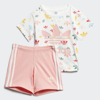 Apparel Gift Set White / Multicolor / Glory Pink FR5308