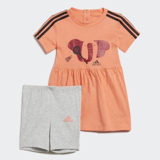 Комплект: футболка и шорты Summer semi coral ED1157