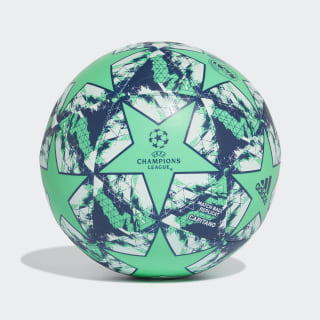 Bola Capitano UCL Finale 19 Real Madrid Hi-Res Green / Night Indigo / White DY2541
