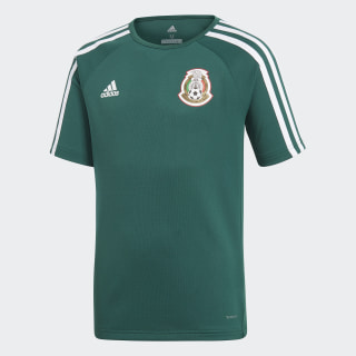 Playera Mexico Home 2018 COLLEGIATE GREEN/WHITE BQ4684