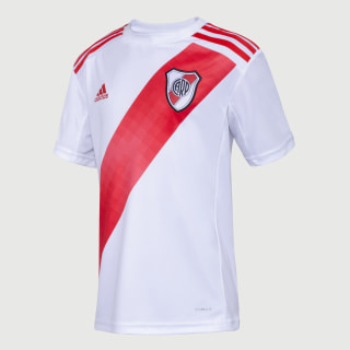 Camiseta Titular River Plate Niño White / Active Red FM1180