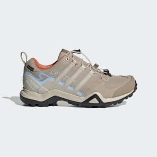 Terrex Swift R2 GORE-TEX Hiking Shoes Trace Khaki / Clear Brown / Glow Blue EF0444