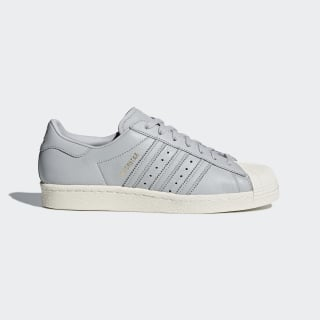 Superstar 80s Shoes Grey / Blue / Red CQ2657