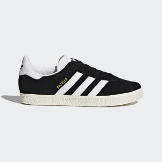 Gazelle Shoes Core Black / Footwear White / Gold Metallic BB2502