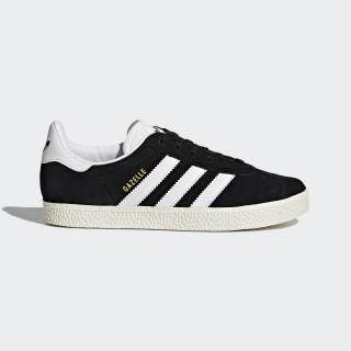 Zapatilla Gazelle Core Black / Footwear White / Gold Metallic BB2502