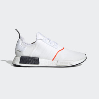 Chaussure NMD_R1 Cloud White / Cloud White / Solar Red EE5086