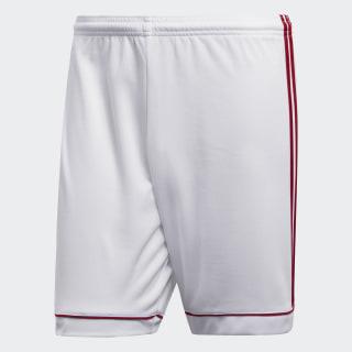Pantaloneta Squadra 17 White / Power Red BK4762