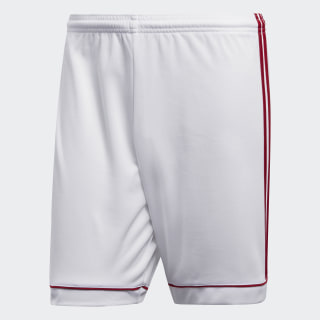 Squadra 17 Shorts White / Power Red BK4762