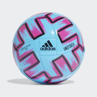 Футбольный мяч UNIFO CLB Bright Cyan / Shock Pink / Black FH7355