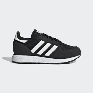 Tenis Forest Grove J Core Black / Running White / Chalk White EE6557