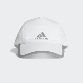 Gorra Runner Bonded White / White / Reflective Silver FK0848
