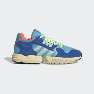 Chaussure ZX Torsion Bright Cyan / Linen Green / Blue EE4787