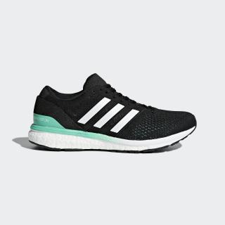 adizero Boston 6 Shoes Core Black / Cloud White / Hi-Res Green BB6421