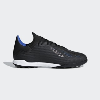 Футбольные бутсы X Tango 18.3 TF core black / core black / bold blue D98077