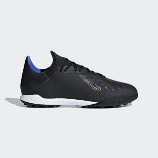 Zapatilla de fútbol X Tango 18.3 moqueta Core Black / Core Black / Bold Blue D98077
