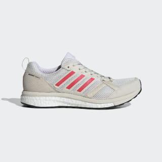 Adizero Tempo 9 Shoes Raw White / Shock Red / Cloud White B37424