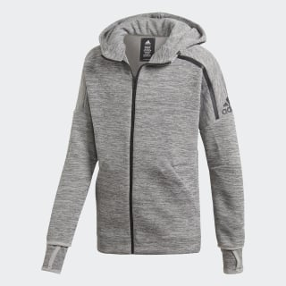 Chaqueta con capucha adidas Z.N.E. Fast Release Grey/Black DV1609