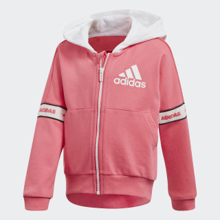Jacket Real Pink / White / White EH4084