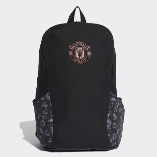 Manchester United ID Backpack Black / Real Red DY7687