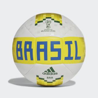 Bola Brasil WHITE/BRIGHT YELLOW/GREEN CF2310