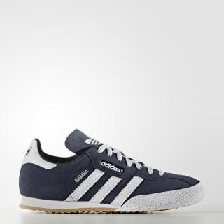 Sapatos Camurça Samba Super Navy / Ftwr White 019332