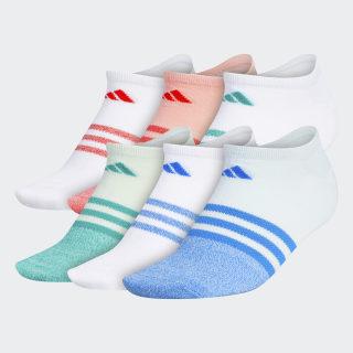 Superlite No-Show Socks 6 Pairs Multicolor CM5803