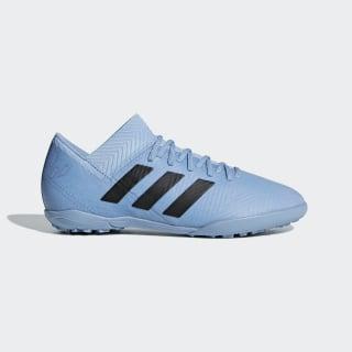 Calzado de Fútbol NEMEZIZ MESSI TANGO 18.3 TF J ASH BLUE S18/CORE BLACK/GOLD MET. DB2395