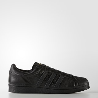 Superstar Boost Shoes Core Black/Gold Metallic BB0186