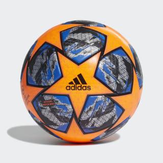 Ballon de match officiel Finale Winter Solar Orange / Football Blue / Black / Silver Met. DY2561