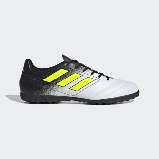 Calzado de Fútbol ACE 17.4 Césped Artificial FTWR WHITE/SOLAR YELLOW/CORE BLACK S77112