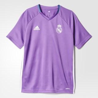 Real Madrid Training Jersey Ray Purple/Crystal White AO3123